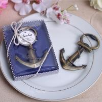 Wholesale Anchor Nautical Theme Wedding Favor Bottle Openers from china suppliers