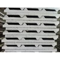 Wholesale Color Steel Metal Roofing Sheets Sandwich Panel With 0.3 - 0.8mm Thickness from china suppliers