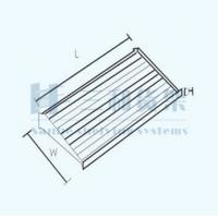 Wholesale Supermarket Iron Straight Showcase Wire Countertop Display Show Rack from china suppliers