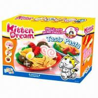 Wholesale Tasty Pasta Educational Toy, Made of Flour, Non-toxic, Kid's DIY set, EN71 standard from china suppliers