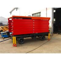 Wholesale 10m Hydraulic Lift Platform , Flexible Material Handling Scissor Lift Platform from china suppliers