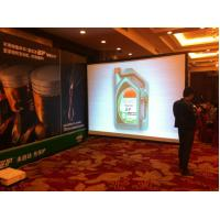 """Wholesale 16/9 250"""" Outdoor & Indoor fast fold rear projection screen , quick fold screen from china suppliers"""