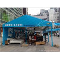 Wholesale Blue Tent Shade Structure Retail Trade / Exhibition Marquee Eco Friendly from china suppliers
