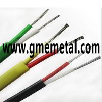 Wholesale Fiberglass Braided Heat Resistant Electrical Wire , Silicone Rubber Insulated Cable from china suppliers