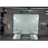 Quality Belt Drive Fan Spray Booth Oven , Professional Paint Booth 4.5 Meters Width for sale