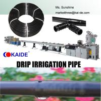 Wholesale Inlaid Cylindrical Type Drip Irrigation Pipe Extrusion Line from china suppliers
