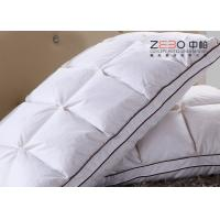 Wholesale Durable Hotel Comfort Pillows Duck Down With Embroidery Logo 1100g from china suppliers