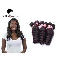 Wholesale Natural Black Loose Wave 6A Remy Hair , Unprocessed Human Hair Weaving from china suppliers