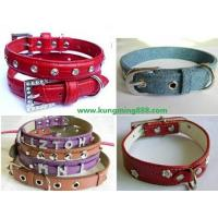 Buy cheap Dog Collars,Leather PET Collars,Rhinstone Dog Collars from wholesalers