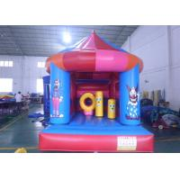 Wholesale Blue Mushroom Shape Child Inflatable Theme Park Double And Quadruple Stitching from china suppliers