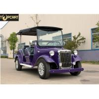 Wholesale High Performance Classic Golf Cart 4 Passenger Electric Buggy Car With Purple Color from china suppliers