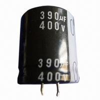 China Snap-in Aluminum Electrolytic Capacitor, Used in Power Equipment  on sale