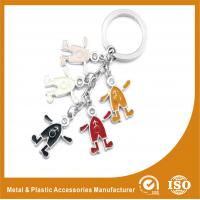 Wholesale Elegant Colorful Metal Personalised Keyrings Promotional Key Chains from china suppliers