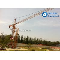 Wholesale 6 ton 56m Hammerhead Tower Crane  Heavy Construction Equipment  with Wire Rope from china suppliers