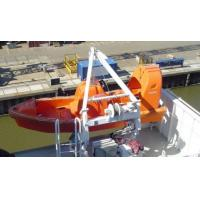 Wholesale Marine A- type fast rescue boat davits from china suppliers