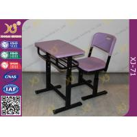 Wholesale Eco Friendly PP Material Student Desk And Chair Set For International School from china suppliers