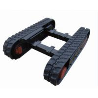 Quality Professional rubber undercarriage/engineering track undercarriage/crawler chassis/worm chasis for sale