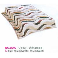 Wholesale Ribbon Printed Raschel Fleece Blanket Border 3 - 5cm Matched Technics from china suppliers