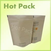 Wholesale Stand Up Kraft paper Pouches Food Grade For Packaging Coffee Beans from china suppliers