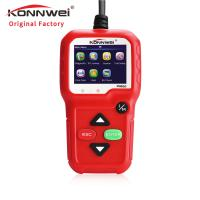 China Digital  Automotive Code Readers Scan Tools KW680  High Resolution TFT Data Printable on sale