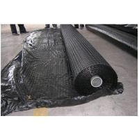 Wholesale Fiberglass Geogrid Light Weight Durable Geosynthetic Materials For Railway Foundation / Dike Slope from china suppliers