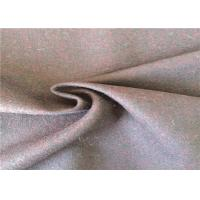 Wholesale Skin - Friendly Worsted 60% Wool Mix Fabric For Winter Overcoat 380g/M from china suppliers