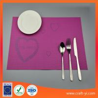 Wholesale PVC square Placemats Insulation Mats Coasters Kitchen/Dining Tables mat from china suppliers