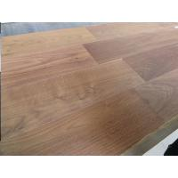 Buy cheap American walnut 2-layers engineered floors, walnut parquet floors,  slight brushed, natural oil, natural color from wholesalers