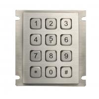 Wholesale Industrial mini Rear Panel Mouting Steel Metal Numeric Keypad with USB or RS232 Interface from china suppliers