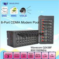 Buy cheap 8card slots usb SMS modem pool with MC55I from wholesalers