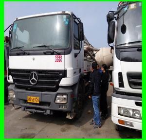 Wholesale 2013 37m 2hand zoomlion benz concrete pump  Truck,Isuzu Concrete Mixer,China Concrete mound truck mixer from china suppliers