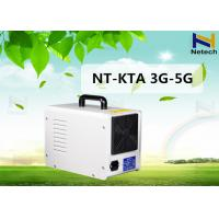 Wholesale White Home 3000 Mg/H Portable Ozone Generator For Fruit Vegetable Purifier from china suppliers