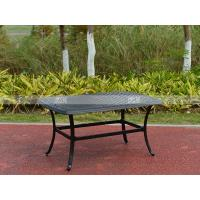 Wholesale BML12252 alumicast coffee table new design rattan coffee table set from china suppliers