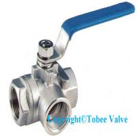 Wholesale 4 inch CF8M 1000 WOG ball valve from china suppliers