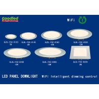 Quality WIFI Intelligent Dimming LED Flat Panel Light 12W Natural White For School, Hotel for sale
