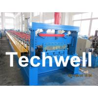 Wholesale Steel Stucture Decking Floor Roll Forming Machine from china suppliers