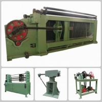 Wholesale Double Twist Hexagonal Mesh Machine / Gabion Machine In Oil And Construction from china suppliers