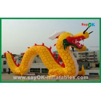 Wholesale Custom Yellow Inflatable Chinese Dragon Inflatable Cartoon Characters For Activities from china suppliers