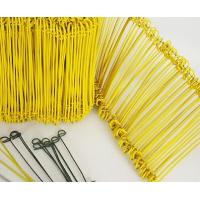 Buy cheap anping factory 1.2mm Pvc coated u type wire/Galvanized u type wire from wholesalers