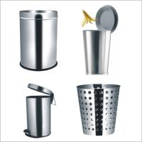 Wholesale 2012 decorative metal trash bin & trash can from china suppliers