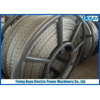 Wholesale 6 Squares 18 Strands Anti Twisting Steel Wire Rope For Transmission Line Stringing from china suppliers