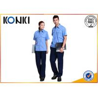 Wholesale Comfortable Material Custom Work  Uniform Shirts With Short Sleeve from china suppliers