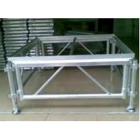 Wholesale Adjustable Height Aluminum Stage Truss For Indoor / Outdoor Movable Stage Platform from china suppliers