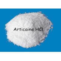 Wholesale Pain Killer Powder Articaine Hydrochloride CAS 23964-57-0 320.839 MW from china suppliers
