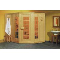 Wholesale Monalisa M-6001 traditional sauna house European style sauna room amazing dry sauna enclosure internal control sauna from china suppliers