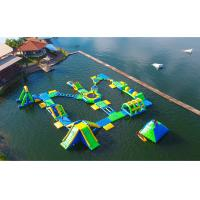 Wholesale Huge Outdoor Inflatable Water Parks for Adult / Inflatable Water Games from china suppliers