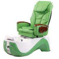 Buy cheap WT-8238 Green Hydraulic Reclining Pedicure Chair 220v -110V With Color Changing Light from wholesalers