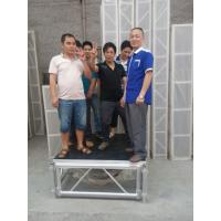 Wholesale Mobile Heavy Loading Outdoor Stage Platform Adjustable Height 1.22*1.22m Assembling from china suppliers