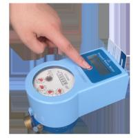 Quality Prepayment Smart Water Meter With Brass Valve Control Low Battery Consuming for sale