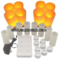 Wholesale Remote Control Flameless LED Recharging Tealight / Electronic Tea Candle Light Indoor Outdoor from china suppliers